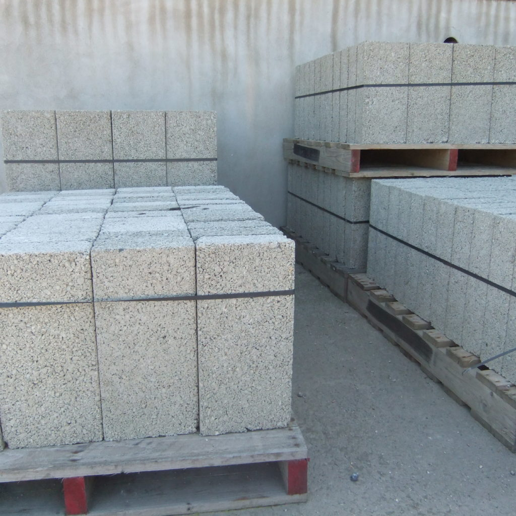 4 Inch Solid Concrete Blocks