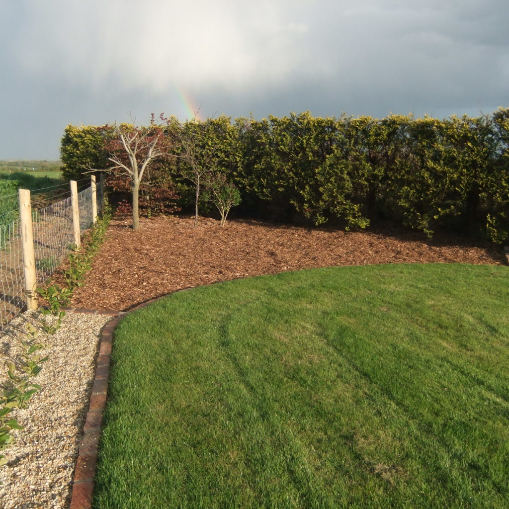 Bark Mulch, White Gold 10mm