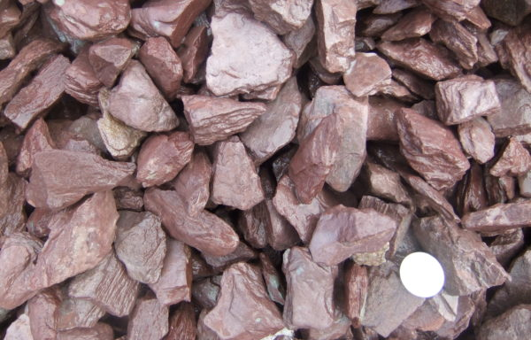 Plum Slate Mulch 50mm